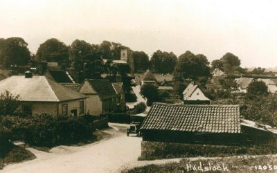View from Back Hill on Bartlow road