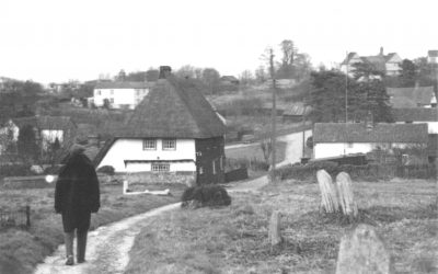 St Botolph's churchyard and Beam Ends, 1940s