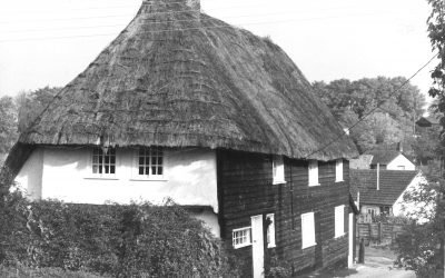 Beam Ends, Church Path, as two cottages, 1960s