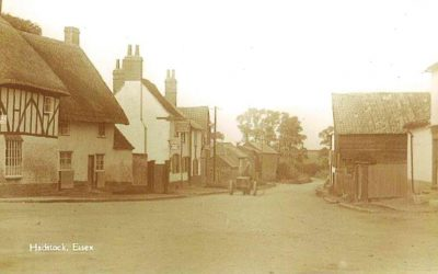 Cottages in King's Head yard, 1900