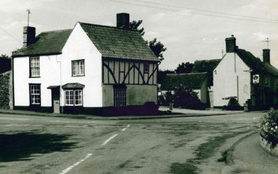 Kings Cottage and pub yard, 1970s