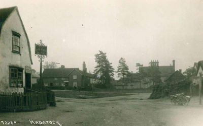 The Green, Queen's Head with Post Office in Pond House, late 1920s