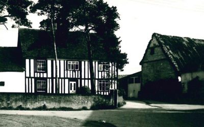 The Green, Hadstock Hall, 1950s