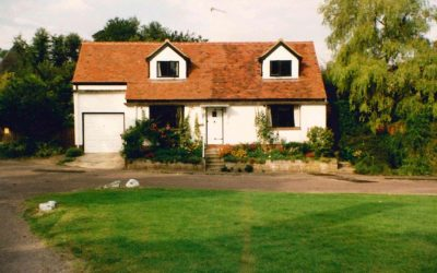 The Green, Waylands after roof conversion, 1990
