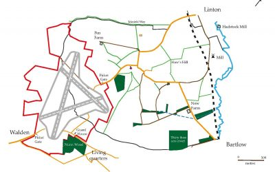 'Landscape History of Hadstock Parish, 1777-2020 – Part 1: Boundaries, Roads, Woods, and Paths' by Richard Dolby