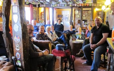 Breakfast discussions at the King's Head
