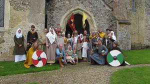 Saxons at the Hadstock Fete, June 2016