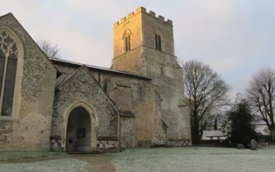 St Botolph's Church on Christmas Day 2018